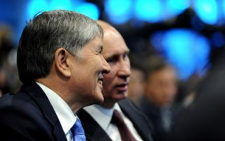 President Atambayev leaves for Sochi to meet with Putin
